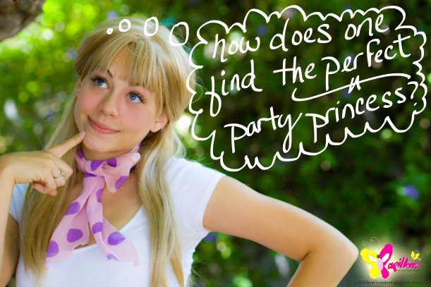 Let me show you how to find the perfect princess for your party in Los Angeles.
