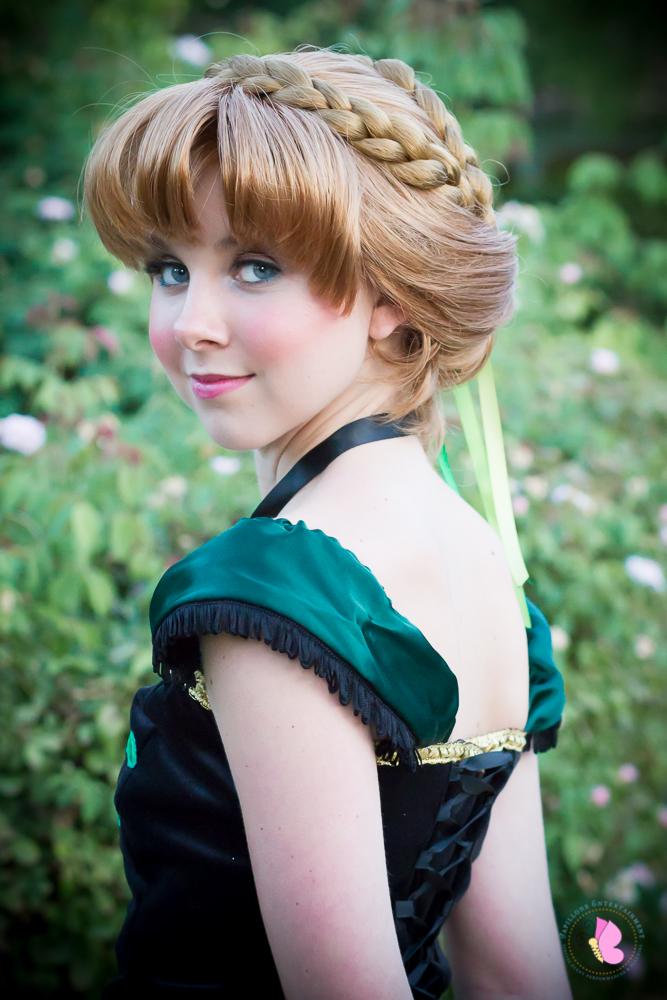 Darling Princess Anna coronation Frozen princess party character Los Angeles